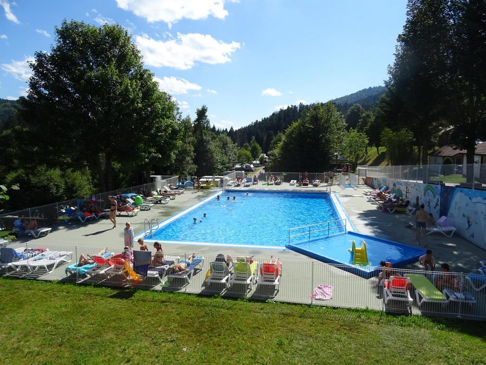 camping piscine vosges la Bresse