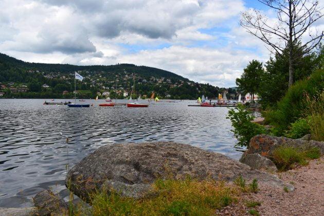 combien kilometre tour lac gerardmer