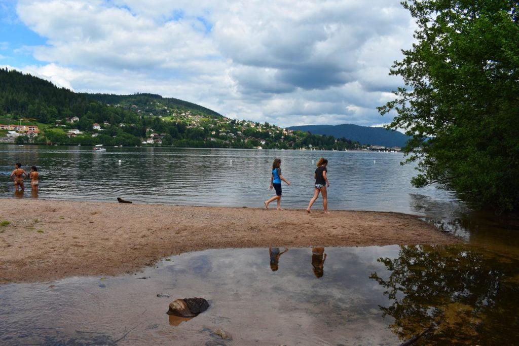 plage secrete lac de gerardmer