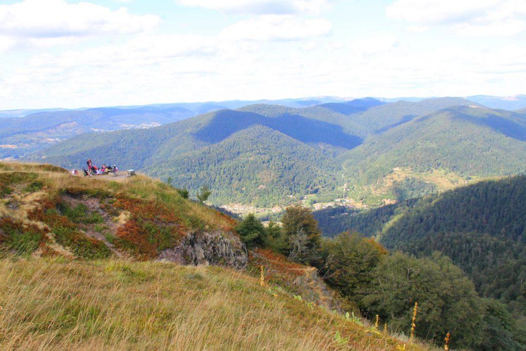 le ballon d'alsace dans les Vosges du Sud