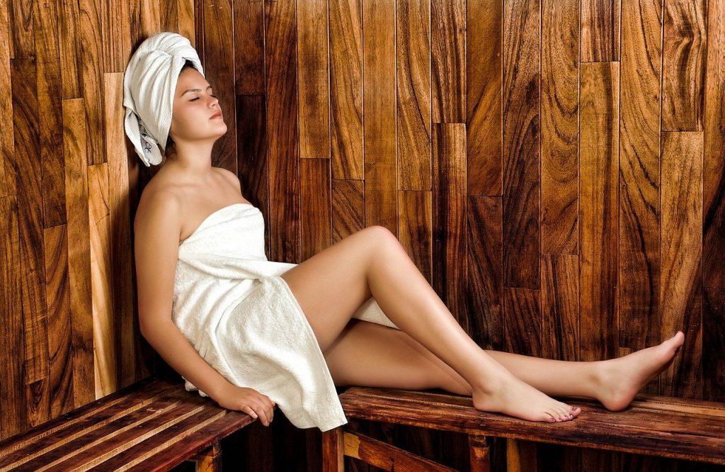 chalet avec sauna à Megève